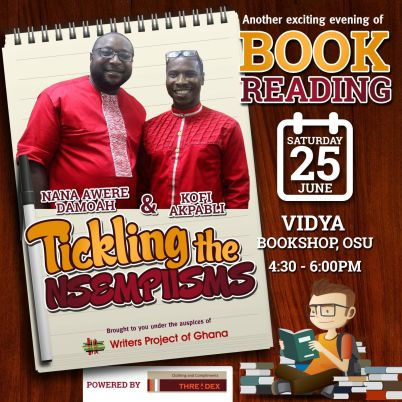 Damoah and Akpabli Book Reading - June 25