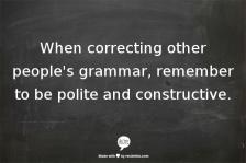 correctinggrammar